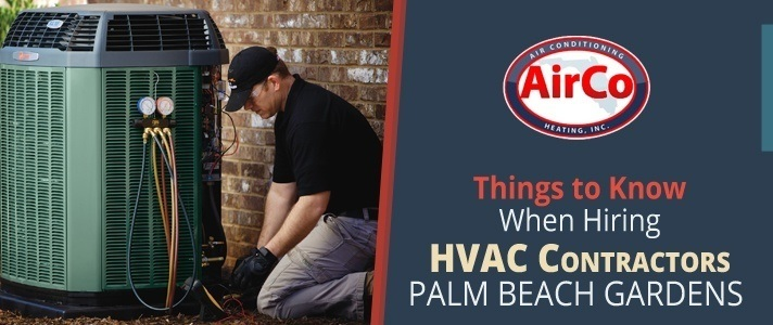 HVAC Contractors Palm Beach Gardens - 561-694-1566