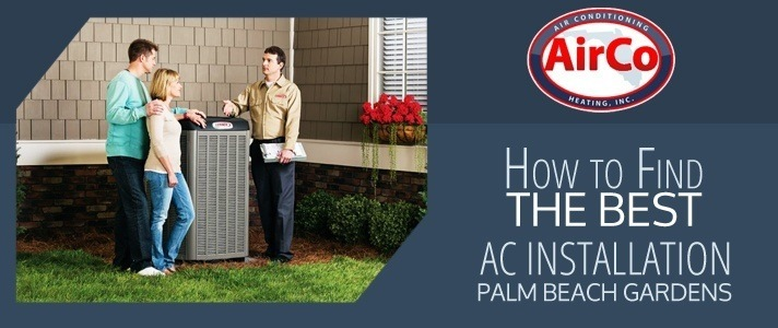 AC Installation Palm Beach Gardens - 561-694-1566